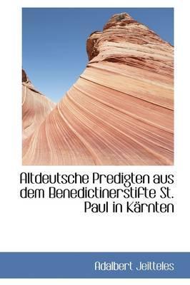 Altdeutsche Predigte...