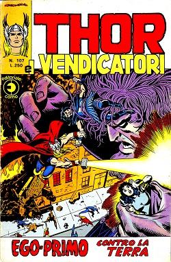 Thor e i Vendicatori (Il Mitico Thor) n. 107