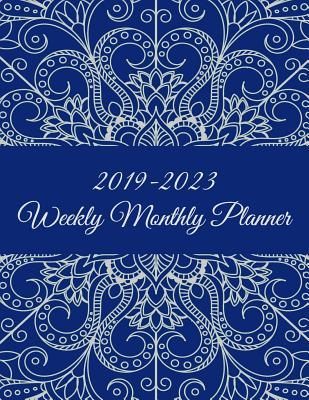 2019-2023 Weekly Monthly Planner