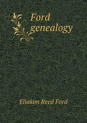 Ford Genealogy