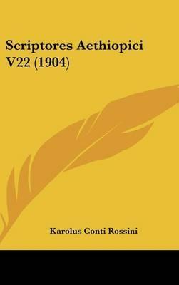 Scriptores Aethiopici V22 (1904)