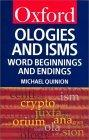 Ologies and Isms
