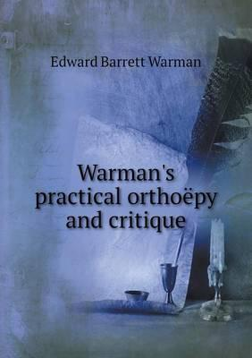 Warman's Practical Orthoepy and Critique