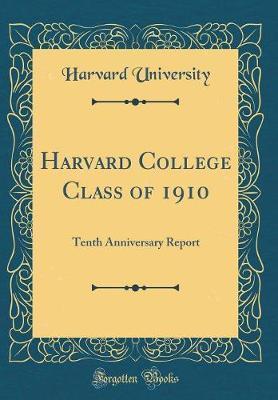 Harvard College Class of 1910