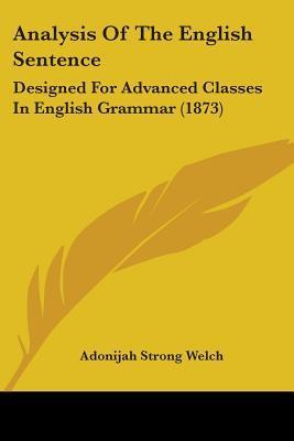 Analysis of the English Sentence