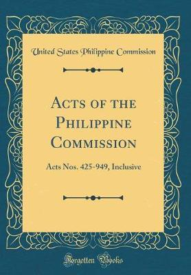 Acts of the Philippine Commission