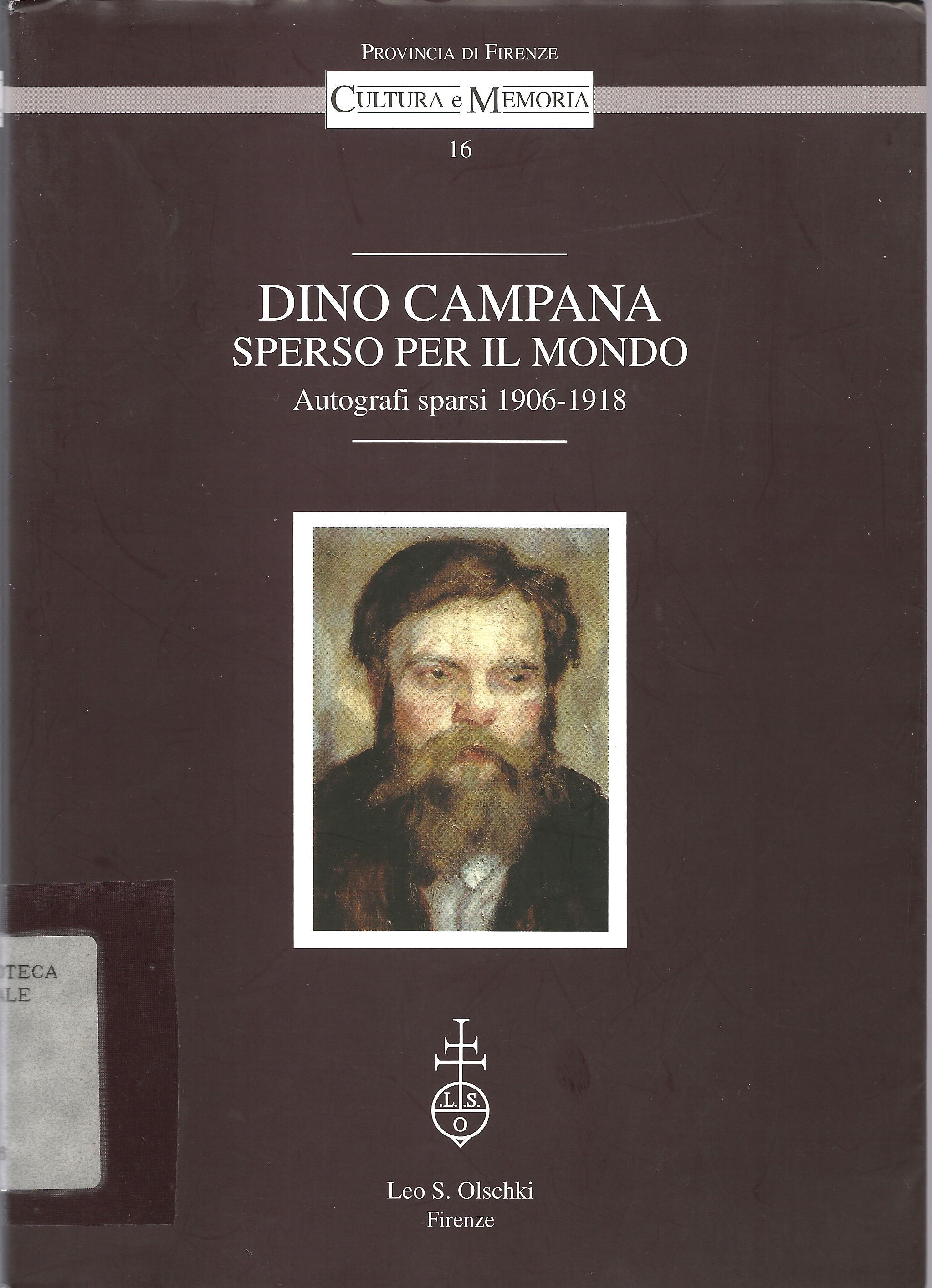 Dino Campana sperso ...