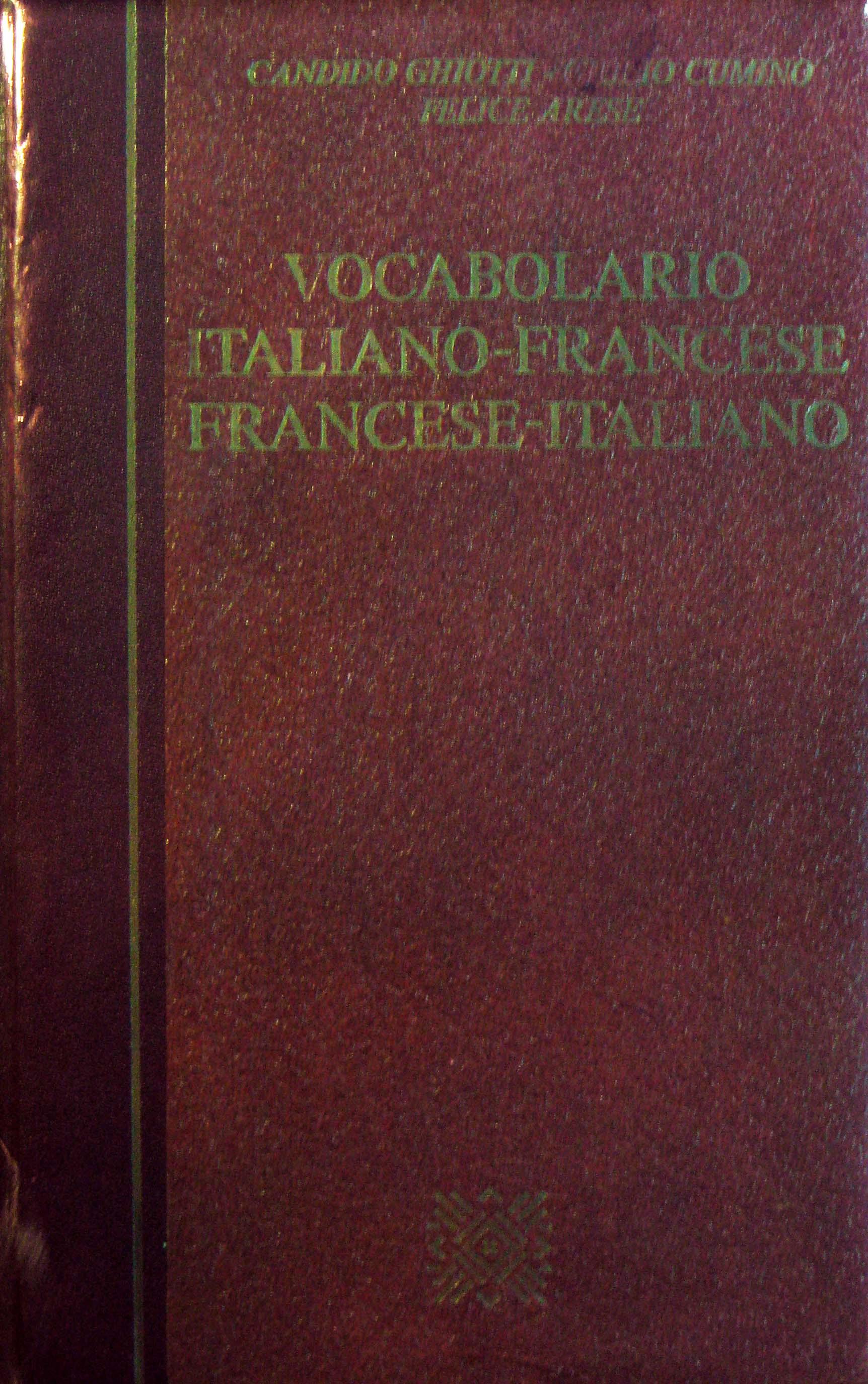Vocabolario Italiano...