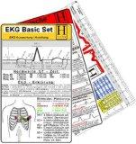 EKG Basic Set. EKG-Lineal + Herzrhythmusstoer. + EKG Karte