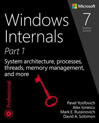 Windows Internals, Book 1