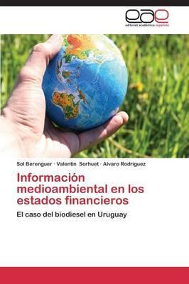 Información medioambiental en los estados financieros