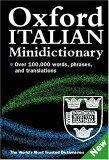 Oxford Italian Minidictionary