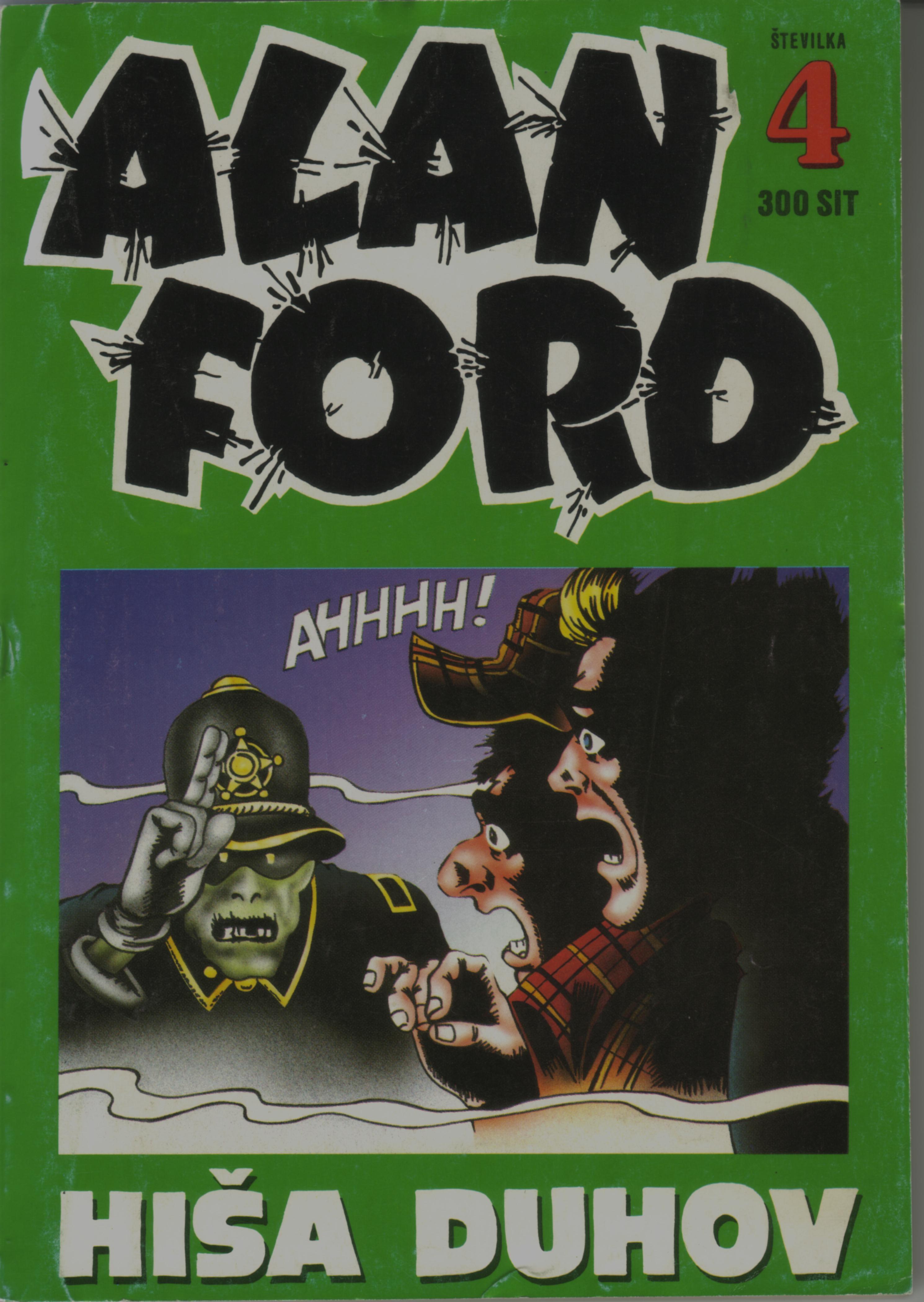 Alan Ford #4