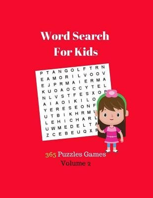 Word Search For Kids 365 Puzzles Games Volume 2
