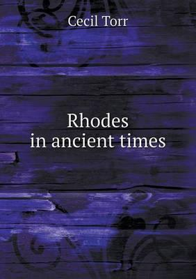 Rhodes in Ancient Times
