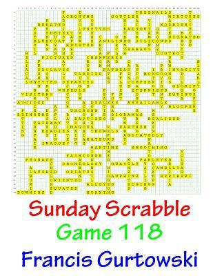 Sunday Scrabble Game 118