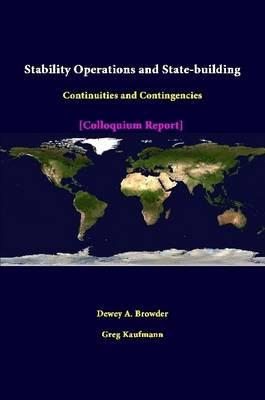 Stability Operations And State-Building