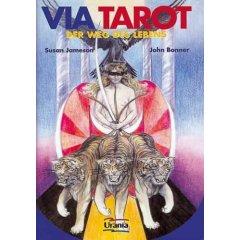 Via Tarot, Der Weg des Lebens, Tarotkarten m. Begleitbuch