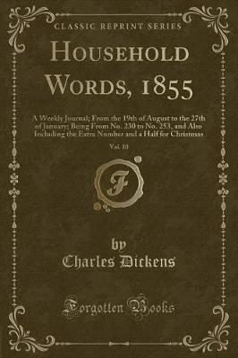 HOUSEHOLD WORDS 1855 VOL 10