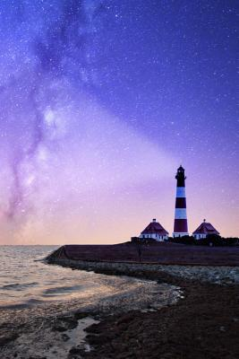 Lighthouse and the Stars Notebook