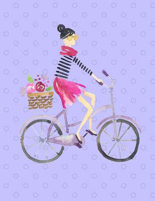 Paris Girl On Bike N...