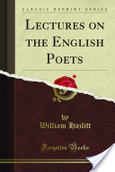 Lectures on the Enlgish Poets