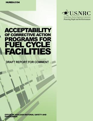 Acceptability of Corrective Action Programs for Fuel Cycle Facilities