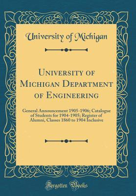 University of Michigan Department of Engineering