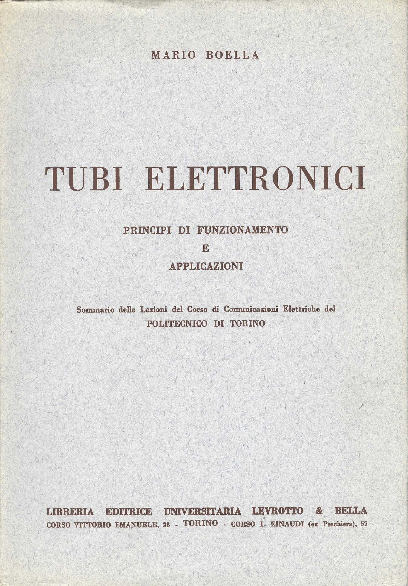 Tubi Elettronici