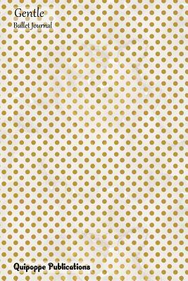 Gentle Bullet Journal - Gold Dots Pattern