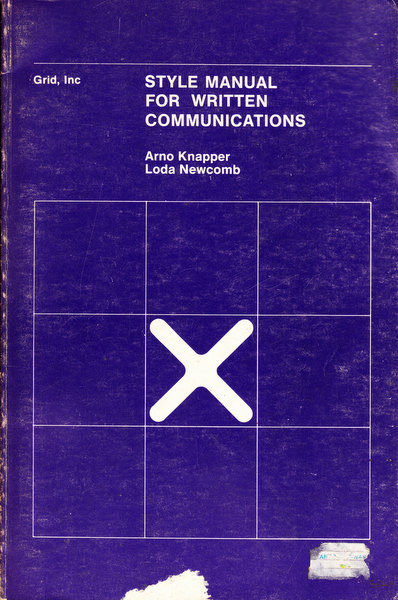 Style Manual for Written Communication