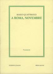 A Roma, novembre