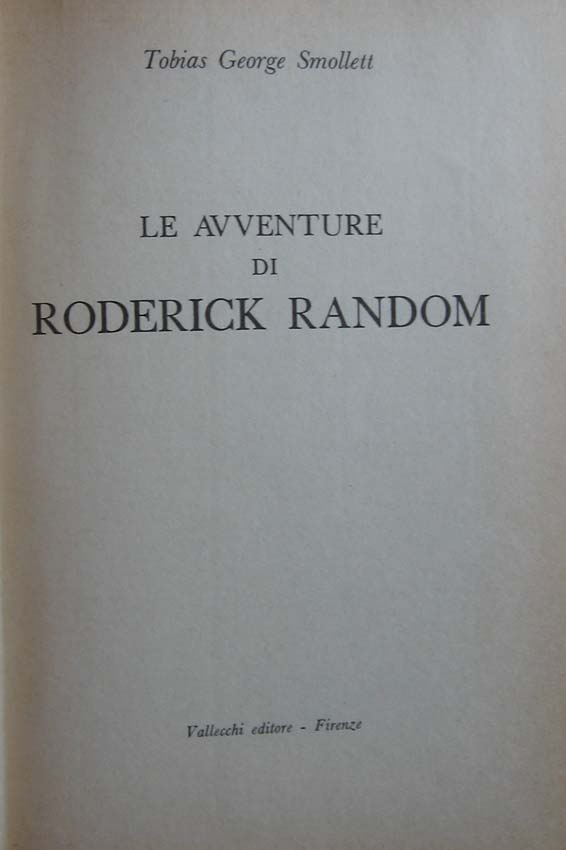 Le avventure di Roderick Random