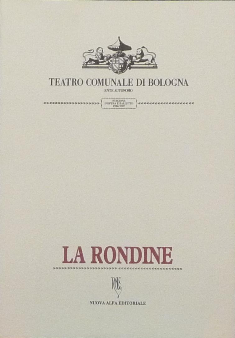 La Rondine - G. Puccini