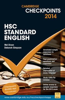 Cambridge Checkpoints HSC Standard English 2014