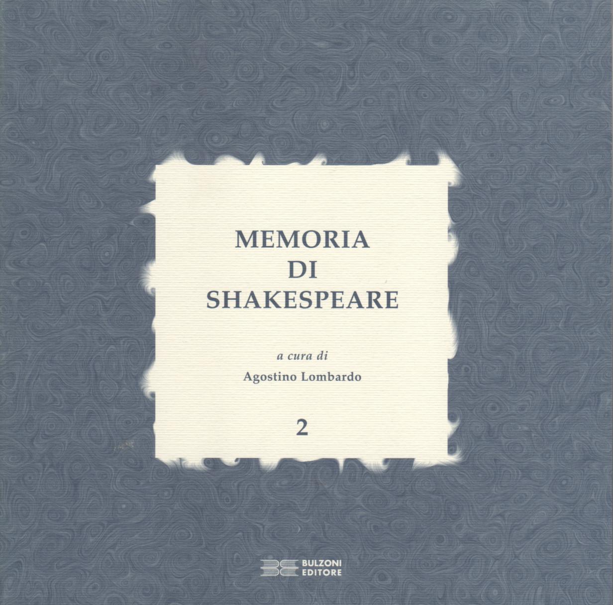 Memoria di Shakespeare