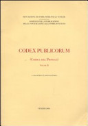 Codex publicorum (Codice del Piovego). Vol. 2
