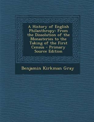 A History of English Philanthropy