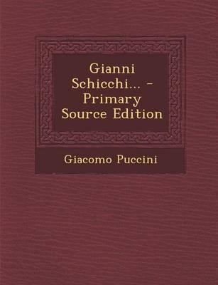 Gianni Schicchi...
