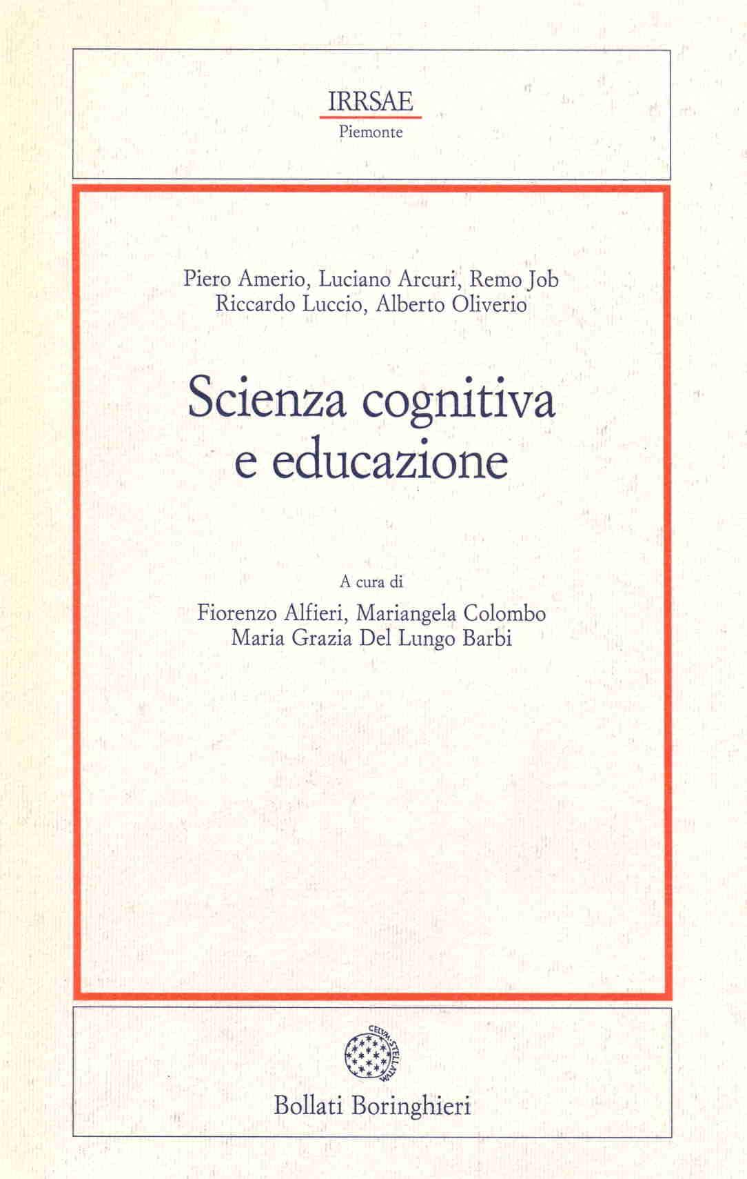 Scienza cognitiva e educazione