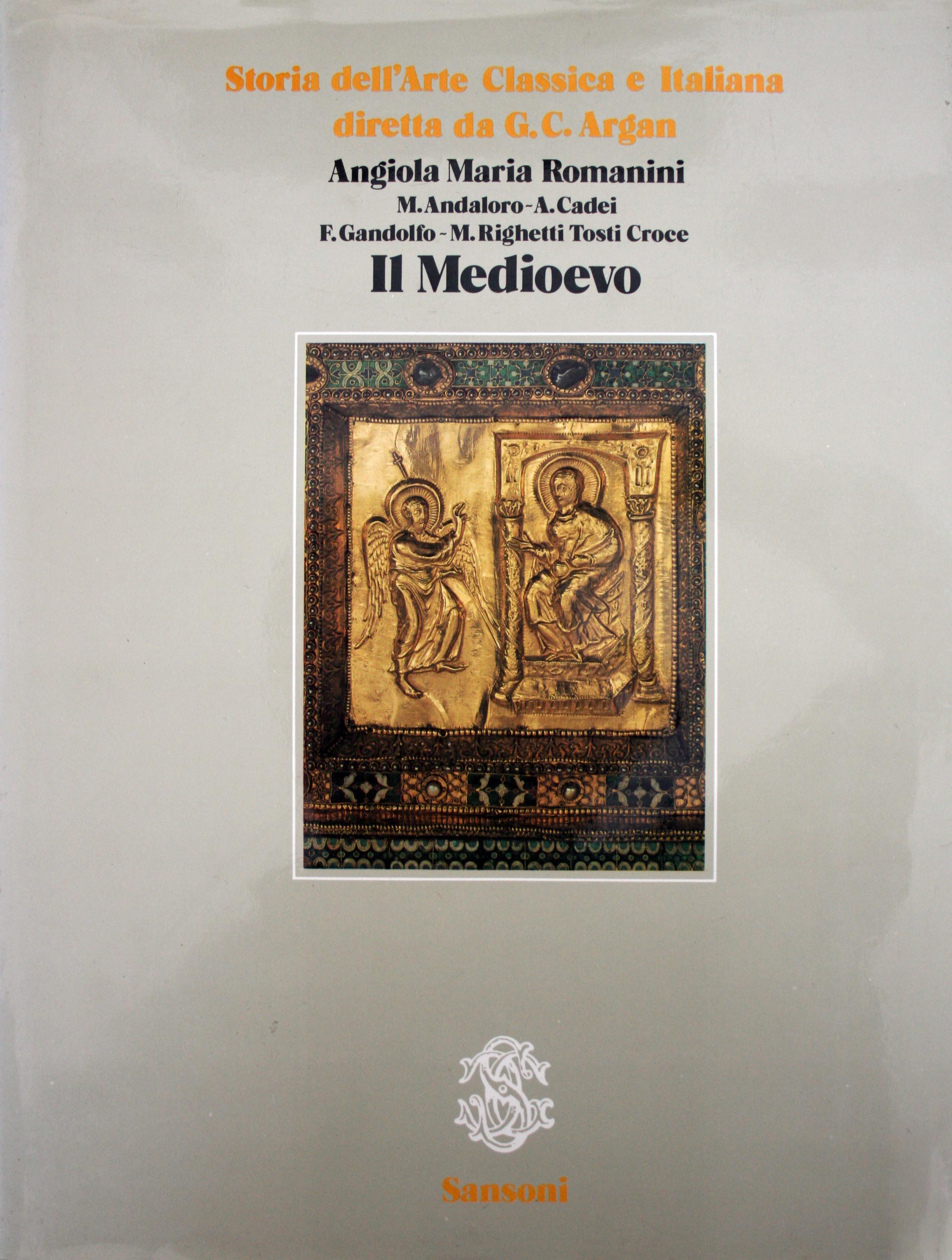 Storia dell'arte classica e italiana. Volume secondo