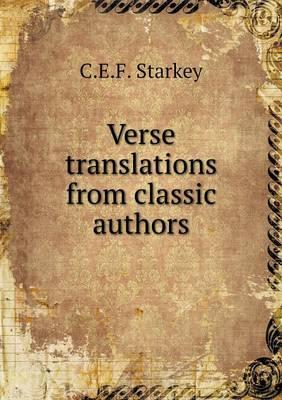 Verse Translations from Classic Authors
