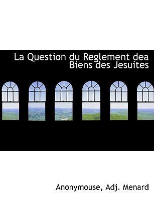 La Question Du Regle...