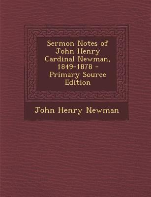 Sermon Notes of John...