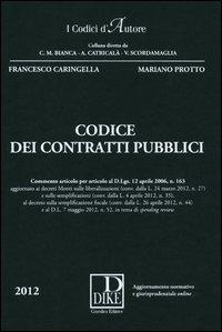 Codice dei contratti pubblici. Con aggiornamento online
