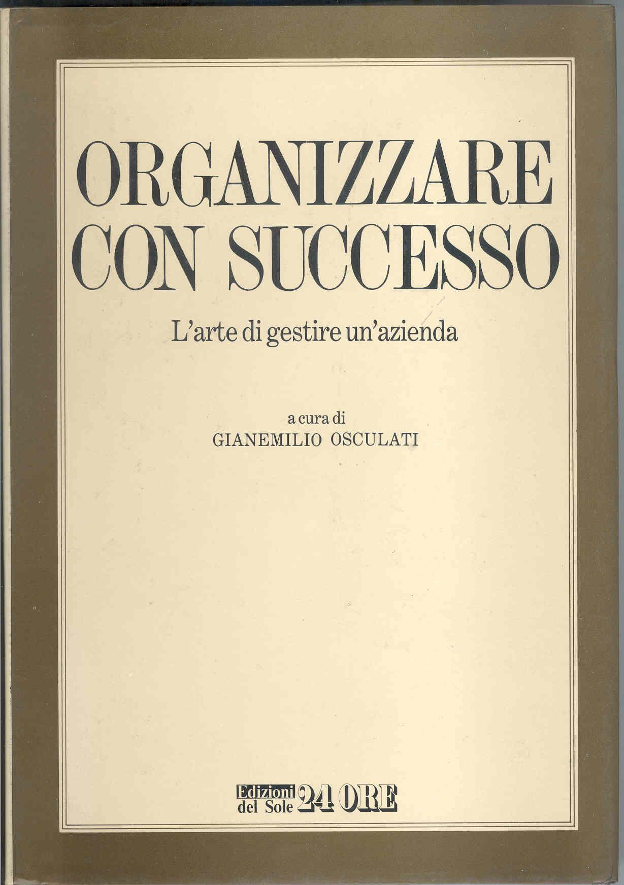 Organizzare con successo