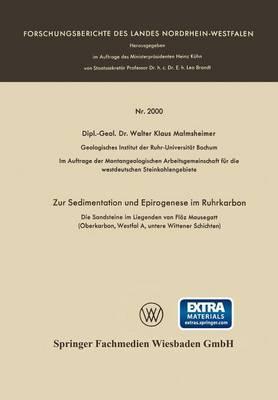 Zur Sedimentation Und Epirogenese Im Ruhrkarbon