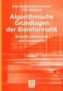 Algorithmische Grundlagen der Bioinformatik