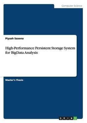 High-Performance Persistent Storage System for BigData Analysis