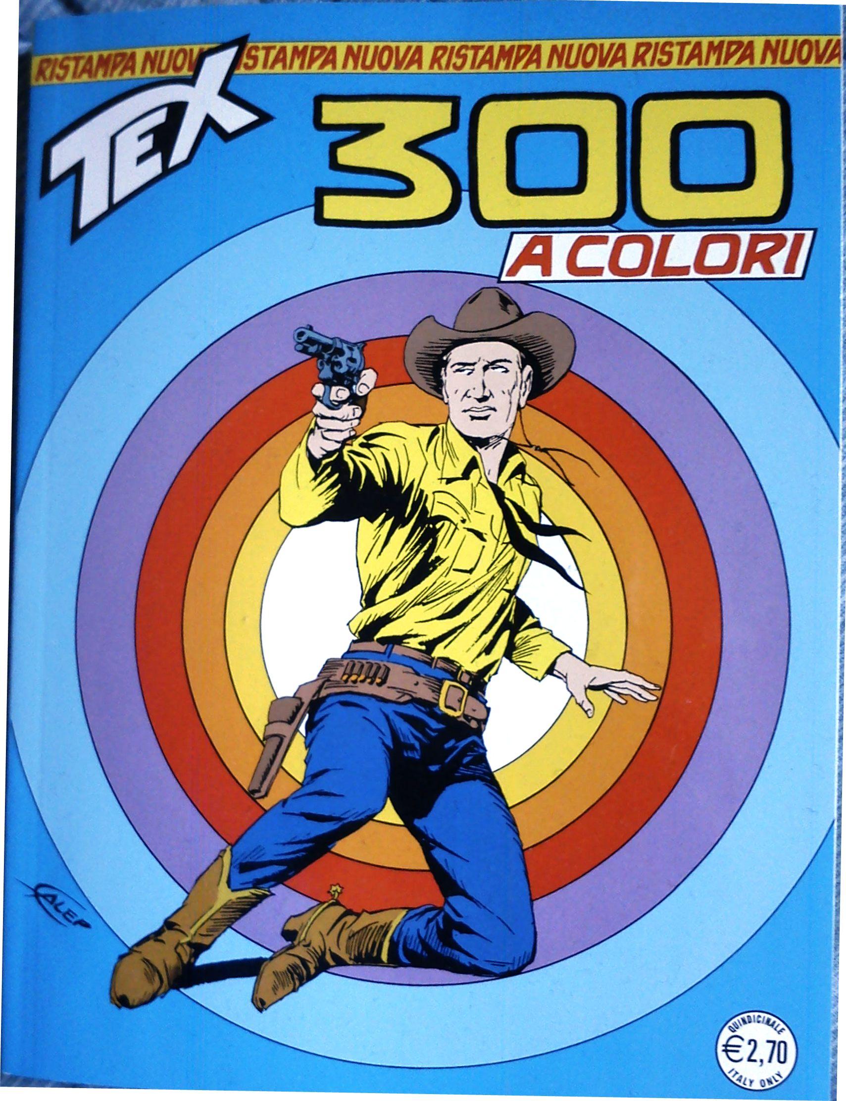 Tex Nuova Ristampa n. 300